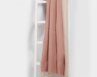 Reversible Soft Wool Throw
