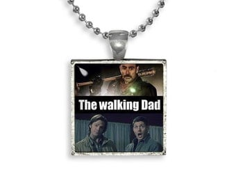 Supernatural The Walking Dead Necklace Pendant Fandom Jewelry Sam Dean Negan Lucille Cosplay Fangirl Fanboy