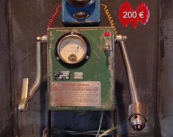 Robot art deco recup