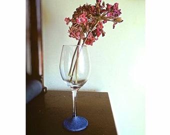 Bottom Sparkle Wine Glass