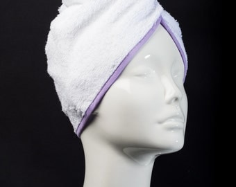 Lilac Classic Collection - The Ultimate Hair Towel by Itza Products : Superior Quality Terry Cloth