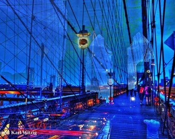 Brooklyn Bridge New York Photographic Art