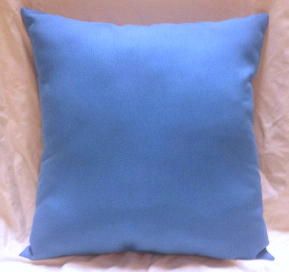Sky Blue Decorative Pillows : 16x16 Sky Blue Throw Pillow by StacyLynnDecor on Etsy