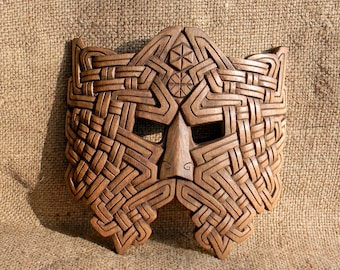 "mask ""warrior of the God of thunder (Perun, Taranis)"""