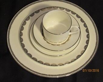 Designer Dinnerware - Vera Wang Vera Flirt Wedgwood 1-5pc Fine China