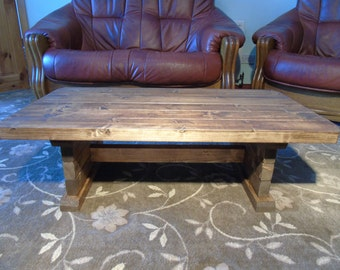 RETRO STYLE Handmade Vintage Coffee Table- Many Sizes & Colours