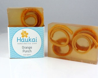 Orange punch glycerin soap