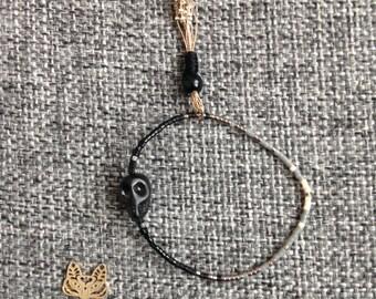 Bracelet skull - Miyuki