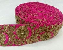 Pink Jari Lace 10 YDS