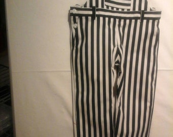 Striped Dungarees Gr. 104