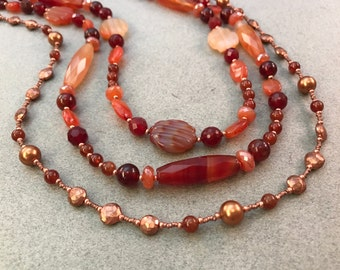 Creative heART Challenge: Autumn Fire Necklace