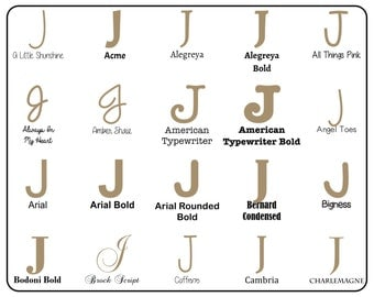 """Wooden Letter """"J"""" Capital  - Unfinished, Unpainted -- Perfect for Crafts, DIY, Nursery, Kids Rooms, Weddings (MDF)"""