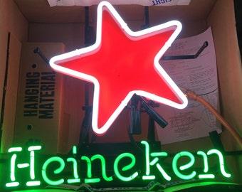Rare Heineken Neon Sign Circa 1990's