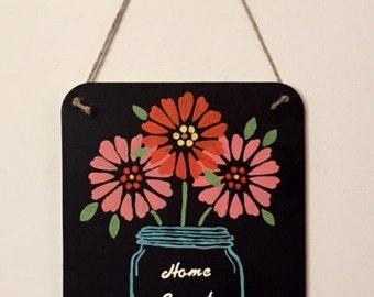 "Chalkboard ""Home Sweet Home"" Sign"