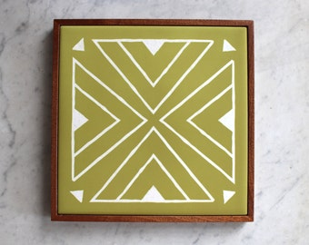 Avacado Green Tile Trivet