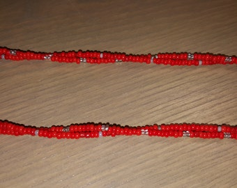 Burnt Red Necklace