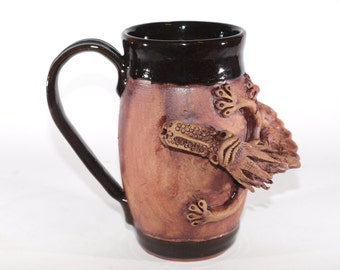 Black Dragon Mug #3