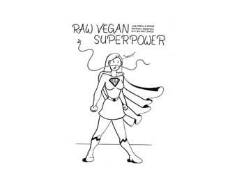 Raw Vegan Superpowers