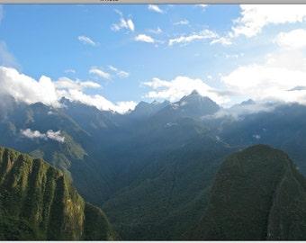 View from Machu Picchu