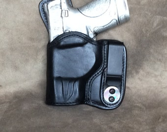 M&P Compact 9/40 Concealed IWB (Inside the Waistband) Leather Left Hand Holster