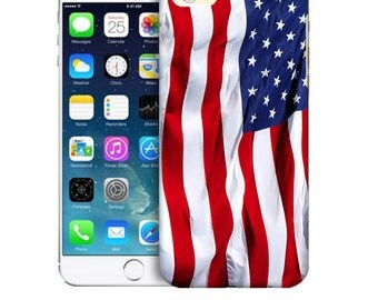 iPhone Vinyl Sticker: American Flag