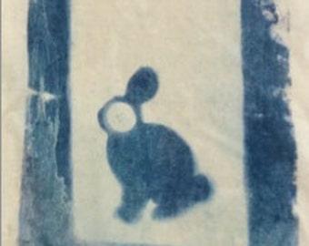 Bag canvas rabbit
