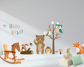 Baby Wall Decals Etsy - Baby wall decals