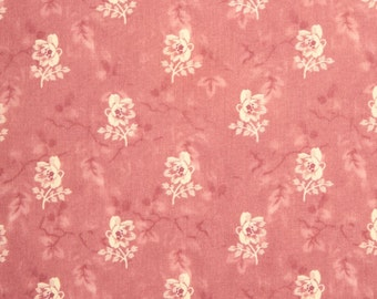 """Penny Rose Isabella Rose Coral Floral by  Riley Blake 100% cotton Fabric by the yard 36""""x43""""  (K187)"""