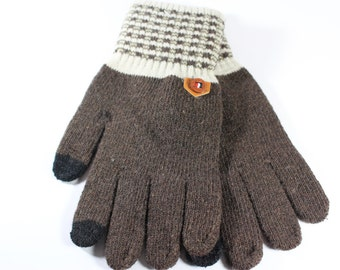 Mixed Cotton Gloves For Mens