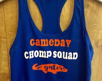 Gameday Chomp Squad Florida Gators tank top