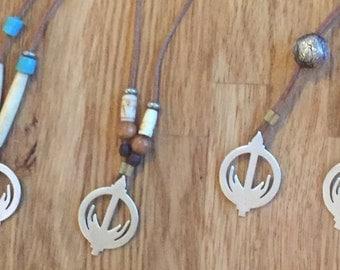 Light Walkers symbol pendant (customised)