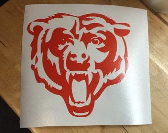 Chicago Bears Vinyl Decal