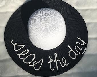 SEAS THE DAY floppy sun hat