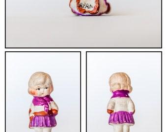 Vintage Bisque Figurine/Penny Doll / Frozen Charlotte -Doll#6