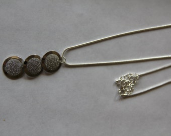 Past, Present, Future pendant necklace