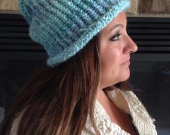 Ocean Blue Adult Hat
