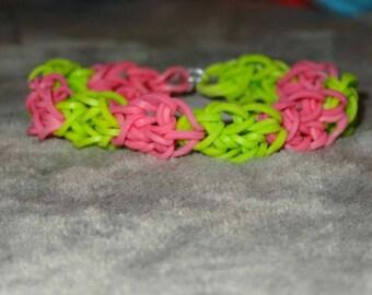 Honeycomb Bracelet - c-clip closing