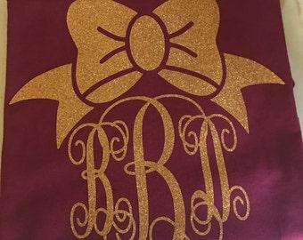 Monogram or design shirts