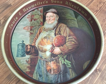Louis F. Neuweiler's Sons Beer Tray