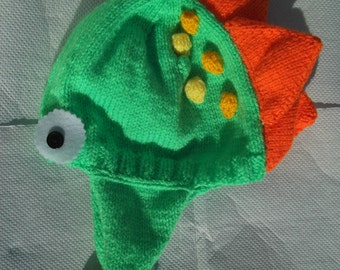 Toddler/child dinosaur hat