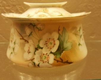 Vintage Covered Sugar/Trinket Bowl