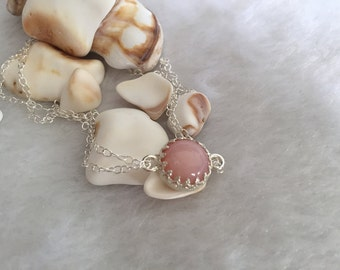 A+ Pink Opal bracelet
