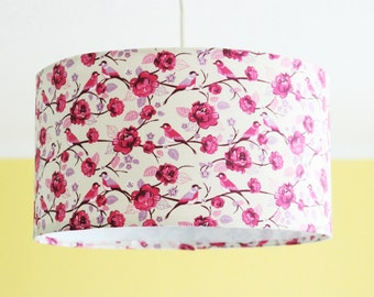 "Lampshade ceiling lamp ""rosy"""