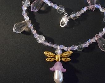 Angel beaded bracelet