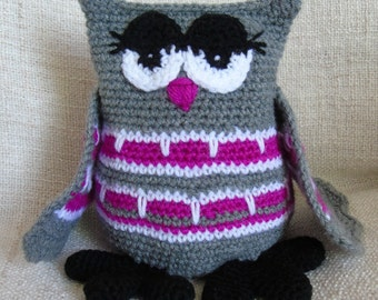 OWL OWL crochet Josepha that sees all