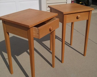 Shaker Side Tables (pair)