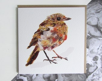 Young Robin Card