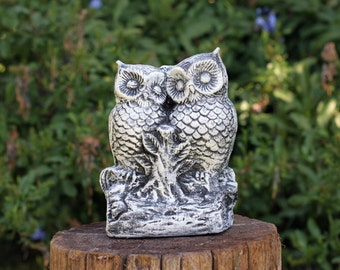 Concrete owl Etsy