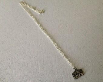 Alamo necklace-Texas jewelry