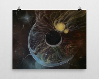 Seeing Space poster print